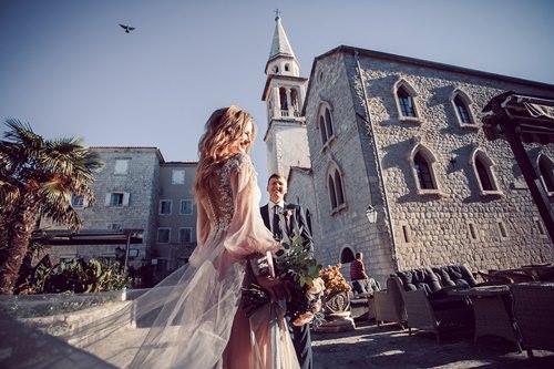 Самая красивая свадьба за границей в Черногории под ключ