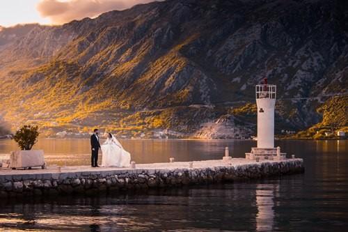Организация свадьбы за границей под ключ в Черногории